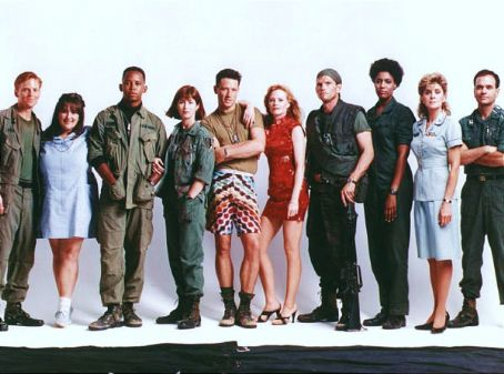 Ned Vaughn , Ricki Lake, Michael Boatman, Dana Delany, Brian Wimmer, Marg Helgenberger, Jeff Kober, Nancy Giles, Concetta Tomei and Robert Picardo in China Beach