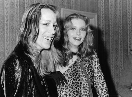 Bebe Buell and Todd Rundgren
