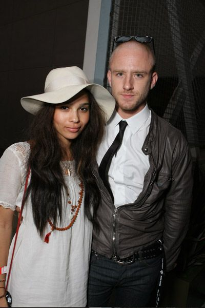 Zoë Kravitz Ben Foster and Zoe Kravitz