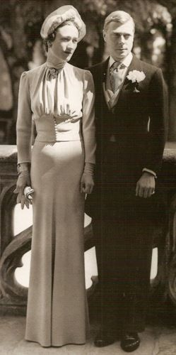 Duchess of Windsor - King Edward VIII and Wallis Simpson