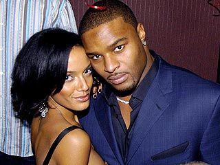 Selita Ebanks  and Osi Umenyiora
