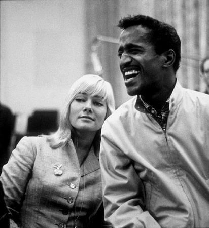Sammy Davis Jr. May Britt and Sammy Davis, Jr.