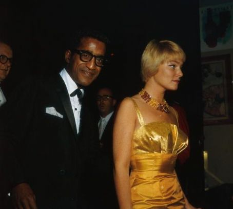 May Britt and Sammy Davis, Jr.
