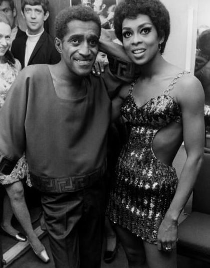 Lola Falana Sammy Davis, Jr. and
