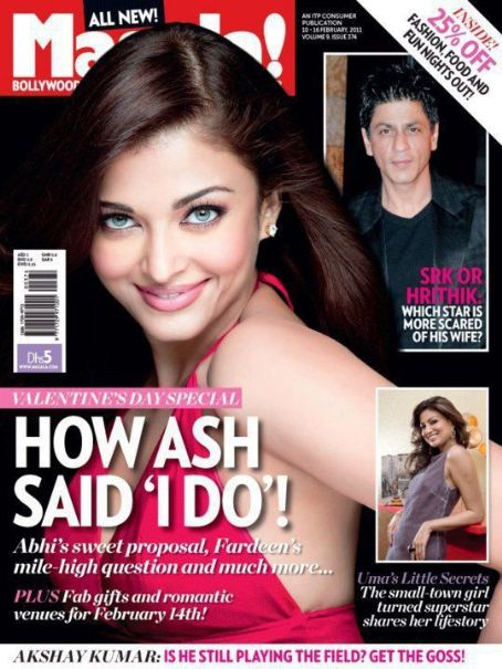Aishwarya Rai - Ahlan! Masala Magazine Cover [India] (10 February 2011)