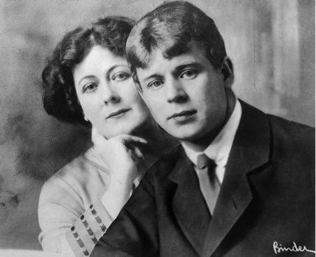 Isadora Duncan  and Sergei Esenin