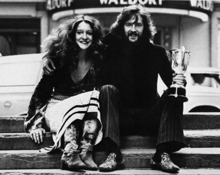 Eric Clapton  and Alice Ormsby