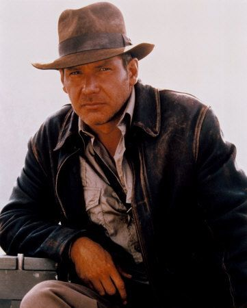 Indiana Jones Harrison Ford in  and The Last Crusade (1989)