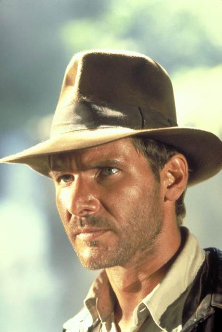 Indiana Jones Harrison Ford in  and The Temple of Doom (1984)