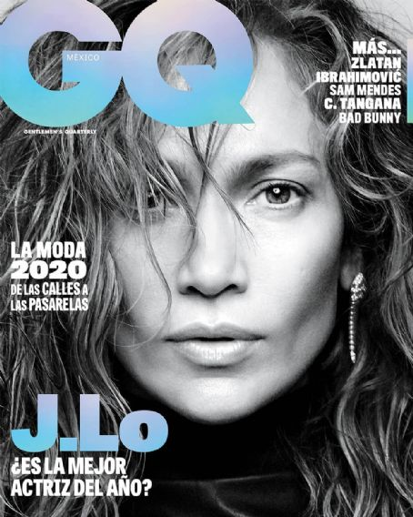 Jennifer Lopez - Cover des GQ-Magazins [Mexiko] (Februar 2020)