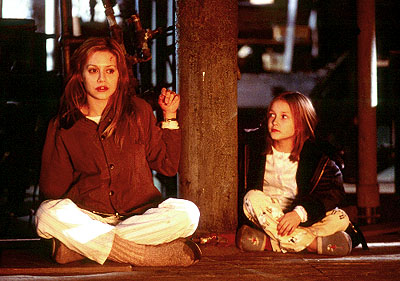 Don't Say a Word Brittany Murphy and Skye McCole Bartusiak in 20th Century Fox's Don't Say A Word - 2001