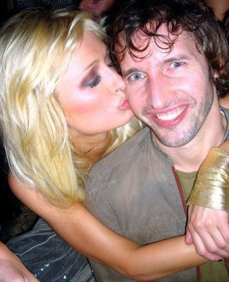 James Blunt  and Paris Hilton
