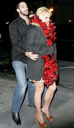 Britney Spears and Isaac Cohen