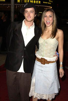 Samaire Armstrong  and Aaron Paul