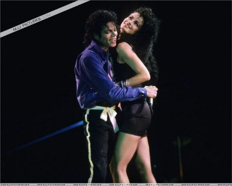Tatiana Thumbtzen and Michael Jackson