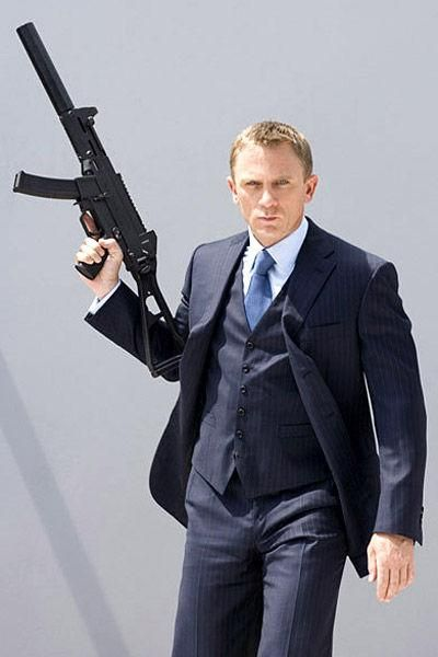 Daniel Craig  in Quantum Of Solace (2008)
