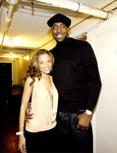 John Salley Wife Natasha Duffy http://www.fanpix.net/1744128/010195557/john-salley-and-natasha-duffy-picture.html