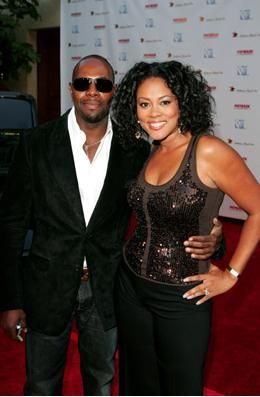 Lela Rochon  and Antoine Fuqua