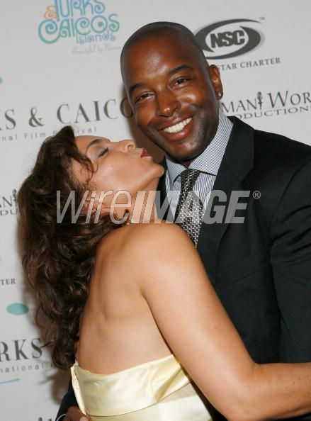 Jasmine Guy  and Terrence Duckette