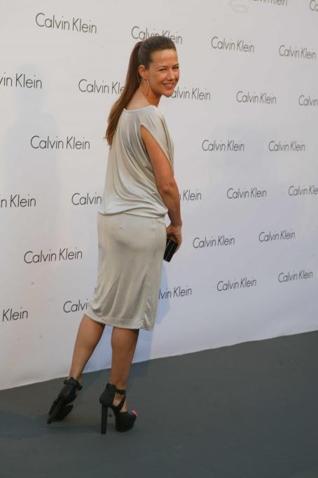 Alexandra Neldel - Mercedes-Benz Fashion Week Berlin - Calvin Klein Party 2010-07-07