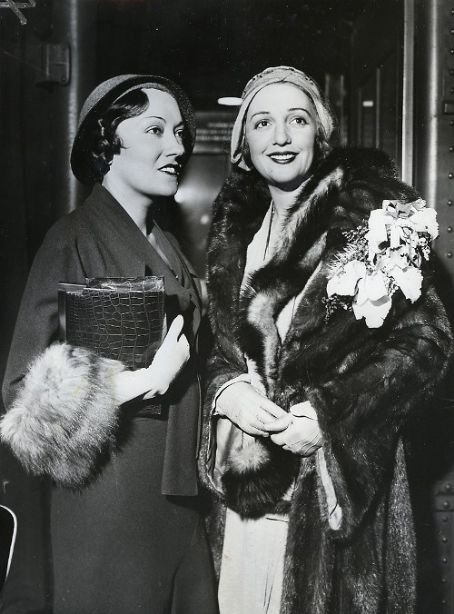 Bebe Daniels  and Gloria Swanson