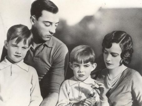 Buster Keaton Natalie Talmadge and