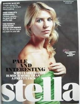 Claire Danes - Stella Magazine Cover [United Kingdom] (14 October 2007)