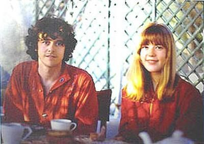 Donovan  and Jenny Boyd