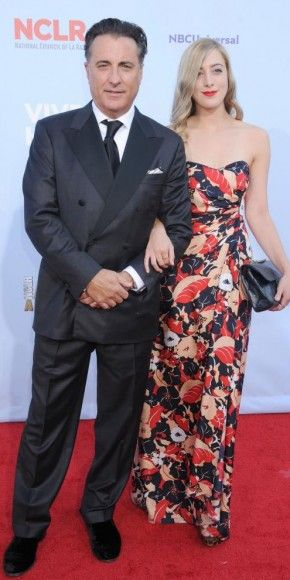 Andy Garcia and Dominik: Alma Awards 2012
