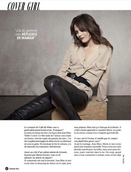 Vanessa Paradis - Be Magazine Pictorial [France] (20 January 2012)