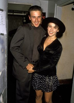 David Arquette Alyssa Milano and