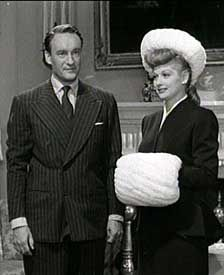 George Sanders Lucille Ball and