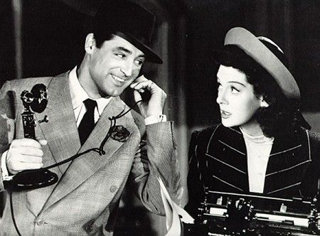 Rosalind Russell Cary Grant and