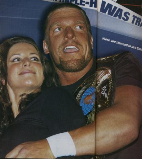 Stephanie McMahon and Paul Levesque