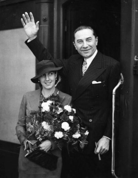 Bela Lugosi  and Lillian Lugosi