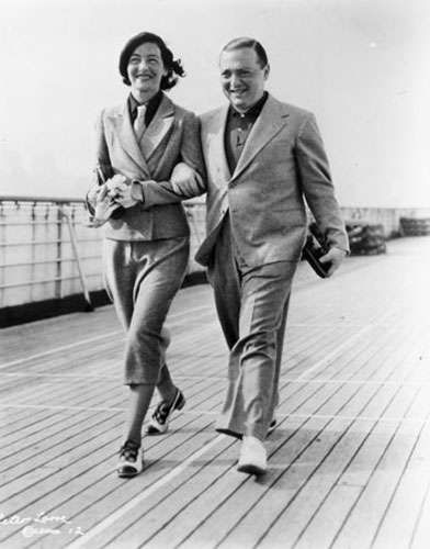 Peter Lorre  and Celia Lovsky