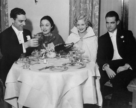 Howard Hughes  and Marian Marsh