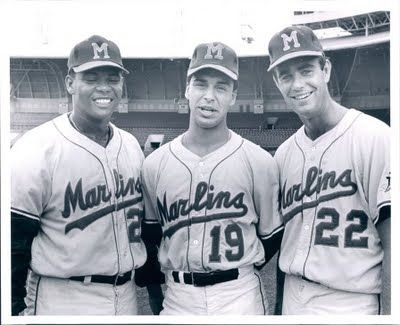 Jim Palmer  As A Member Of The Miami Marlins 1968