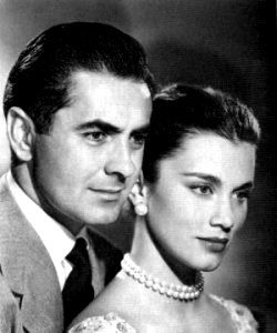 Tyrone Power and Linda Christian