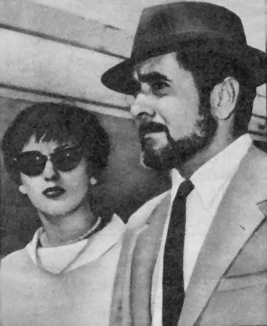 Tyrone Power and Debbie Ann Minardos