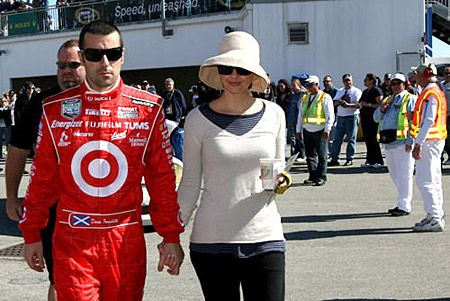 Ashley Judd  and Dario Franchitti