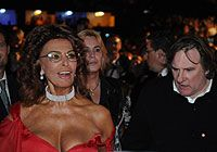 Gérard Depardieu Gerard Depardieu, Sophia Loren