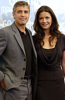 Catherine Zeta-Jones , George Clooney
