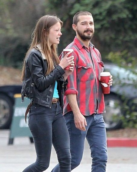 Mia Goth Shia Labeouf spends the day with his new girlfriend  in Ventura, Ca December 22nd, 2012