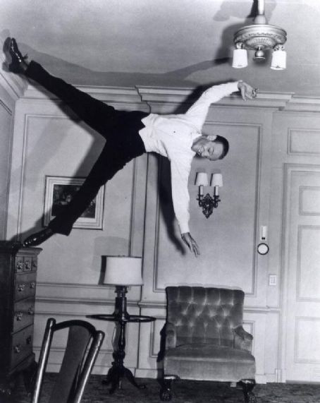Fred Astaire Fred's famous dance on the ceiling in 'Royal Wedding'