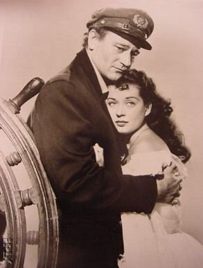 John Wayne Gail Russell and