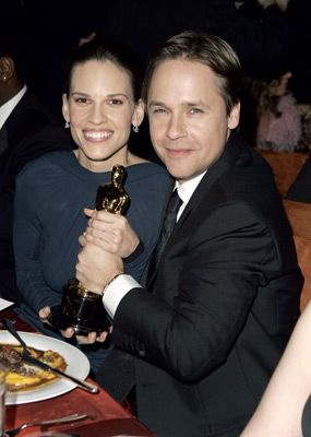 Chad Lowe  and Hilary Swank