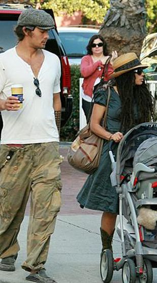 Jason Momoa Lisa Bonet and