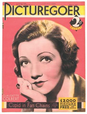 Claudette Colbert - Picturegoer Magazine [United Kingdom] (12 March 1932)