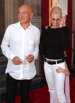 Ben Kingsley  and Alexandra Christmann
